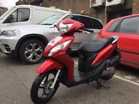 Honda vision 110 (2012) low mileage 12 months mot