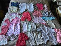 Bundle Of Girls Clothes Newborn - 3 Months