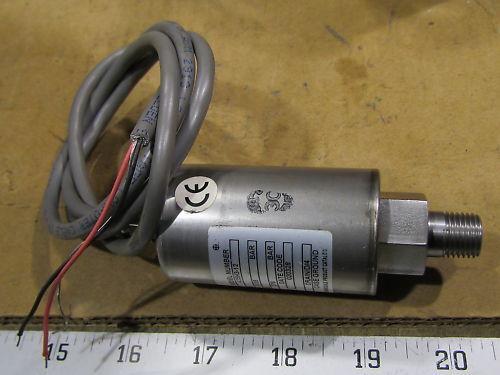 Barksdale 425H3-12 Pressure Transducer 0-2000 PSIG NEW