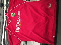 Norwich football shirt