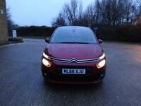 Citroen C4 Picasso Grand Bluehdi Touch Edition Ss Eat6 (red) 2016