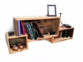 Pallet furniture Handmade windows shelf - DIY Project
