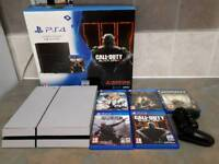 Ps4 1tb boxed 5 games bought from john lewis