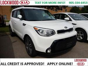 2014 Kia Soul SX - ONE OWNER, NO ACCIDENT'S, LEATHER, BLUETOOTH