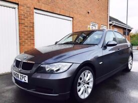 2008 08 BMW 3 Series 318d 2.0 Turbo Diesel++FULL LEATHER++EXTRAS not 118d 120d a4 1.9 tdi s line
