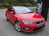 SEAT LEON 2.0 TDI FR DSG [Technology Pack] Auto (red) 2014
