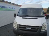 2008 ford transit 17 seater ex ministry of defence full history full mot seen in belfast most evenin