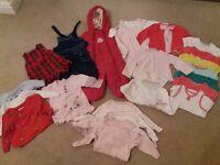 :: Girls 3-6 month Winter Bundle - very good condition ::