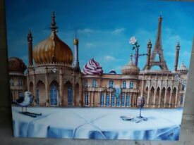 ONLY ONE; Brighton Pavilion Canvas