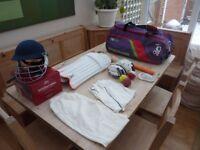 Full Left Handed Junior/Youths Cricket Set Up !!! Kookaburra / Slazenger Good Condition