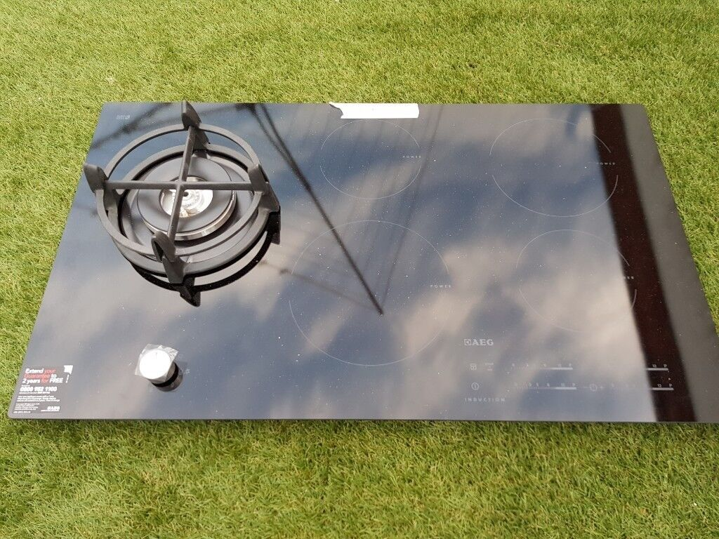 AEG 900mm Gas And Induction Hob