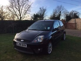 2008 Ford Fiesta Zetec S, Black for sale 93000 Miles, M.O.T Due December 2017