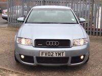 2002 AUDI A4 1.8T QUATTRO 4X4 S LINE MANUAL VORTEX KIT NAVIGATION PLUS / MOT 08-2018 3 KEYS