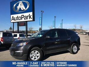 2016 Chevrolet Traverse LS | AWD | Bluetooth | Rear View Camera