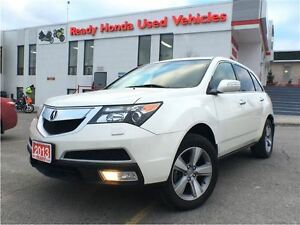 2013 Acura MDX AWD | Leather | Sunroof |New Tires