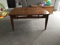 Coffee table, Mid century, upcycle project