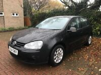 VW GOLF MK5 1.6 2004 FSI 5 DOOR BLACK-12 MONTHS MOT-1 OWNER FROM NEW-VERY LOW MILLAGE 80K FROM NEW