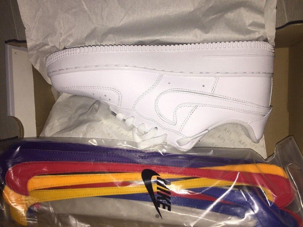 Nike Air Force 1 Swoosh Pack Size 6 UK (Brand New)  5ef08b850