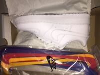 Nike Air Force 1 Swoosh Pack Size 6 UK (Brand New)