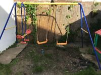 Double Swing & Seesaw set from Smyths