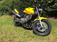Honda CB 600 Hornet Yr 2000 excellent condition good reliable bike 2 keys all documents tax & mot