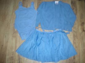 Girls Pale Blue Ballet items for age 9-10 year old.