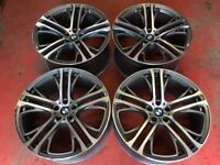 22'' BMW X5 ALLOY WHEELS ALLOYS X6 M PERFORMANCE 5X120 310 STYLE