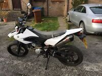 YAMAHA WR125X 2014/14REG 1 OWNER FROM NEW VERY LOW MILES