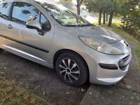 Peugeot 207,1.4 petrol, 2006,3,door hatchback,