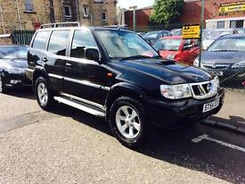 Nissan terrano 11 3.0 diesel 54 Reg 7 seater low mileage full leather tow bar