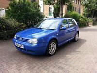 VOLKSWAGEN GOLF 1.9 GT TDI PD SERVICE HISTORY 2 OWNERS