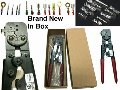 VLIKE Crimper Tool Kit A Self-adjustable Ratchet Wire Crimping Pliers AWG 22-10
