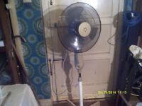 A FLOOR STANDING FAN , with THREE SPEED & SWIVEL ACTION , IT DOES THE JOB ! +++