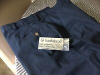 Men's brand new 100% cotton trousers