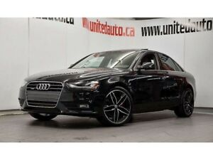 2014 Audi A4 2.0 TECHNIK CAMERA DE RECUL, NAV ET PLUS