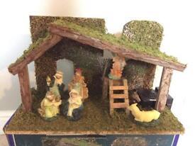 Nativity Set with music