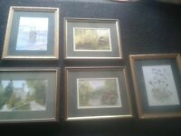 paintings v.vale Merthyr Tydfil scenes.