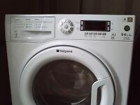 hotpoint washer dryer wdud9640 9kg