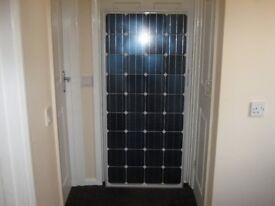 140w Solar Panel Kit For Caravan, Motor, Camper Van, Stables or Garden Shed
