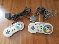 Super Nintendo (SNES) (Original Console) Game Controllers - Retro Gaming