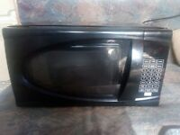 Black Asda Microwave