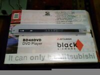 Mitsubishi DVD/CD player £10