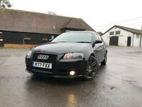 Audi A3 2.0 TFSI S Line Quattro Sportback 5dr GREAT CONDITION