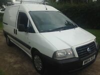 Solid reliable 1.9d (non turbo) van fiat Scudo same as Citroen dispatch and Peugeot expert.