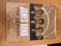 James Bond The Legacy 007 Book by John Cork & Bruce Scivally