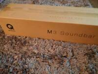 Brand new Q Acoustics M3 Soundbar