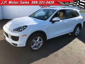 2015 Porsche Cayenne Navigation, Leather, Sunroof AWD, Diesel