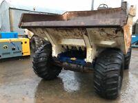 Dumper TEREX 10 Ton year 2007 hrs 3107