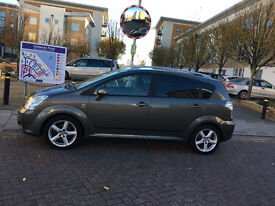 55 reg 2005 toyota corolla verso 180 t spirit d4d diesel manual 7 seater, 12 mot, 95k hpi clear 100%