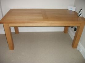 Dining Table . Solid Oak .